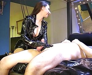 Ruined Orgasm: Spunk with pain
