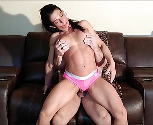 Fucking Alexis while she wears pink panties