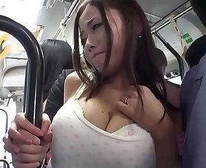 Japanese Babe Gets Packed With Cum