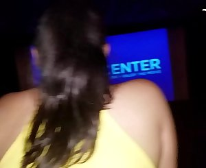 Fucking my girlfriend in a movie theater