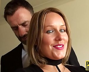 Obedient mummy pounded