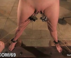 Adulteress blackmailed and predominated in bondage